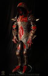 Warlock Themed Custom Leather Armor by Azmal