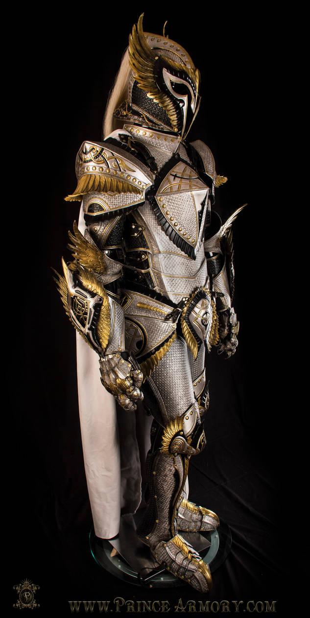 White Knight Armor by Azmal