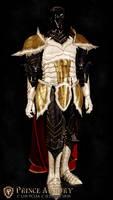 Medieval Vegeta Court Armor by Azmal