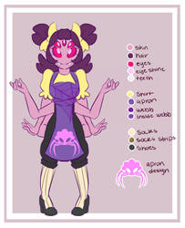 NT!Muffet Reference sheet by Bunnymuse