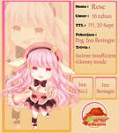 MoE : Rose by ichigomeichan