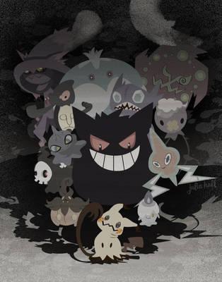 Spooky Friends by m-dugarchomp