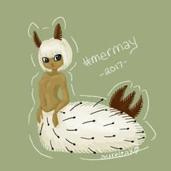 Sea Bunny Mermaid by m-dugarchomp