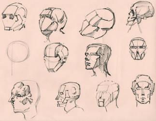 Figure studies 17 by lubu-art