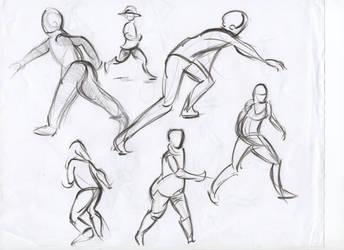 Figure studies #20 by lubu-art
