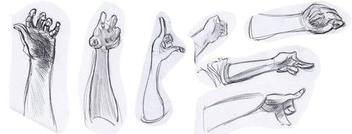 Figure studies #22 by lubu-art
