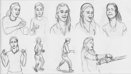 Character Studies -Simone Giertz- by lubu-art