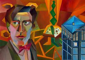 Cubist TARDIS by Umanimo