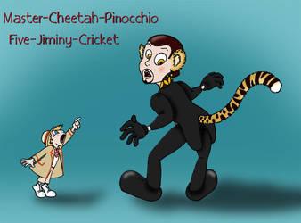 Fifth Doctor Jiminy Cricket by Umanimo