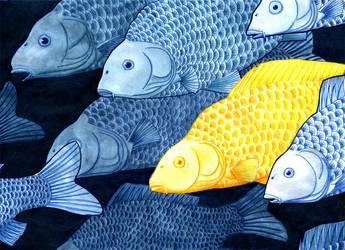 Goldfish by yeyra
