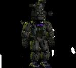 Fnaf 4 Springtrap by robrichwolf