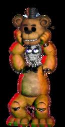 Fnaf Anniversary Bonnie As Freddy by robrichwolf