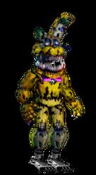 Nightmare Springtrap My Version by robrichwolf