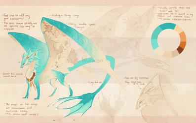 Liaorune concept ref by Kuraon