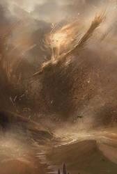 Sandstorm princess by Oission