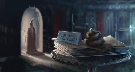 Gandalf's revenge by Oission