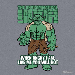 The Ungrammatical Yoda by Randy-Coffey