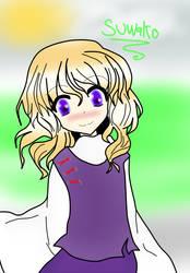 suwako moriya fan art by xXxLuNa0LuisxXx