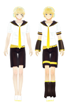 Montecore Styled Len Kagamine Models Finished by Madpadpan