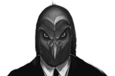 Black Dove by FelipeDarkZz