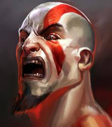 Kratos, Random unfinished by FelipeDarkZz