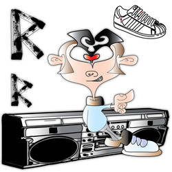 hip hop by Robstoons