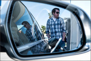 Chris Bolt Pumps Gas by makepictures