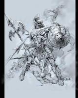 el-Halberdier Imperium Soldier by elshazam