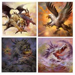 EL Fantasy artworks by elshazam