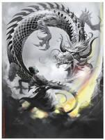 Dragon Samurai EL3 by elshazam