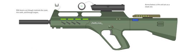 Plasma Cutter Rifle by Artmarcus