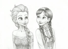 Sisters of Arendelle by Xijalle