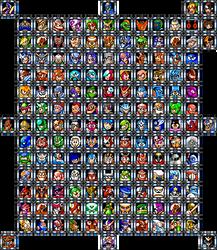 Mega Man Stage Selector Version 1 by ForteGigasGospel