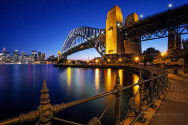 Sydney Harbour Bridge by DrewHopper