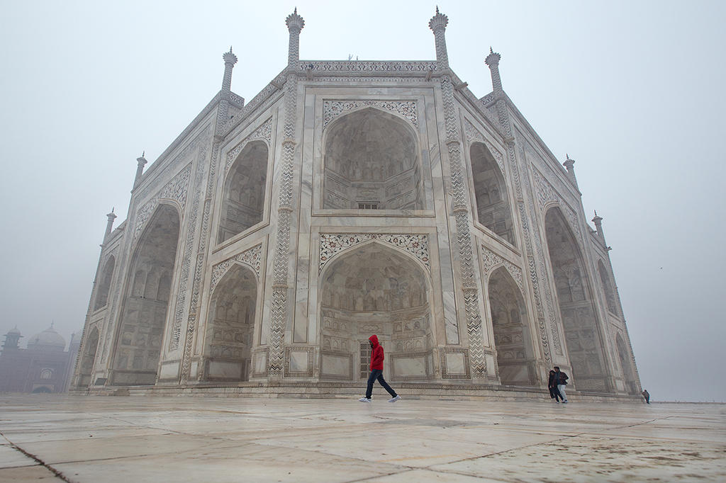 Winter Taj by DrewHopper