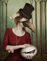 Bird's mother by AnnMei