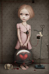 Girl without heart by AnnMei
