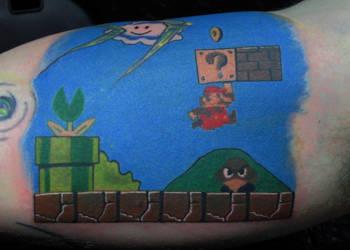 NES Mario by JakubNadrowski