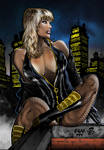 Black Canary COLOR by henflay
