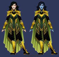 Lady Loki redesign by Hybryda
