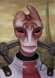 The Very Model Of A Scientist Salarian by CharlyBell