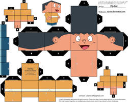 Cubeecraft Takeshi Gian By Djuliar by Djuliar