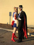 SailorMoon+TuxedoKamen by PinkCarbon