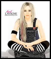 Avril Lavigne Vector by Lullipops