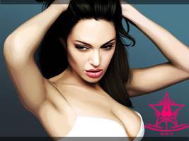 Angelina Jolie by Lullipops