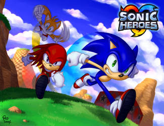 Sonic Heroes by gndagnor