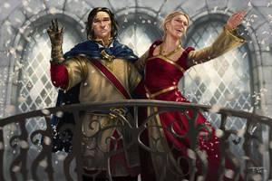 just married by PrincepsSenatus