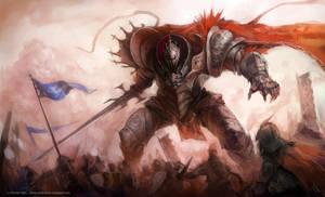 robotic knight by Roboto-kun