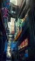 street by Roboto-kun