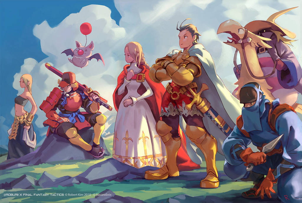 Final Fantasy Tactics - Side B by Roboto-kun